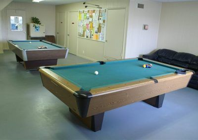 campground pool table
