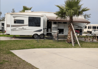 fifth wheel at rockport campground