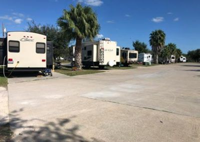 RVs at Campground