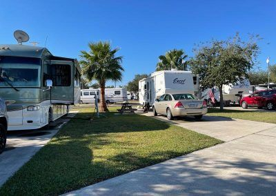 RVs at RV Park